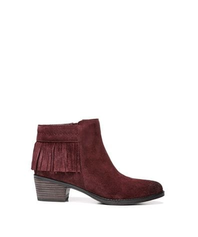 Naturalizer Women's Zeline Ankle Bootie in Bordo