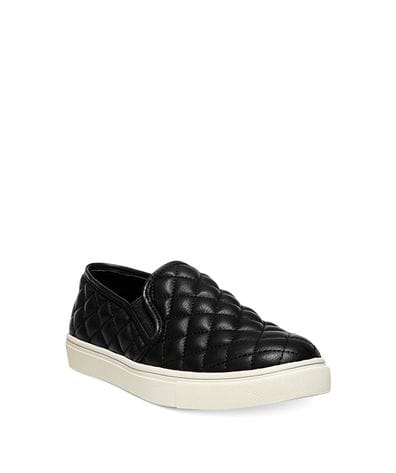Steve Madden Women's Ecentrcq Slip-On Fashion Sneaker in Black
