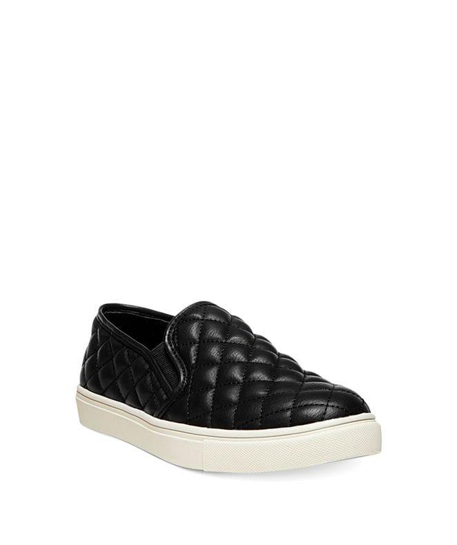 Steve Madden Women's Ecentrcq Slip-On Fashion Sneaker in Black