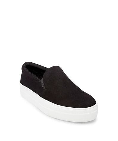 Steve Madden Gills Women's Fashion Sneaker in Black