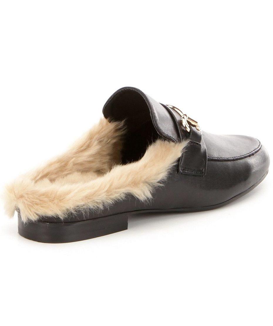 b3ac2c9d6c0 Steve Madden Jill Women s Slip-on Loafer with Faux Fur in Black ...