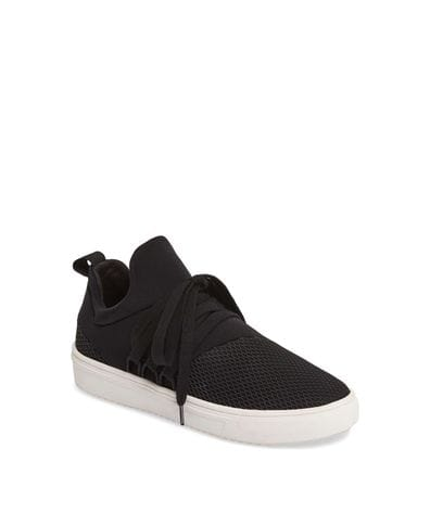 Steve Madden Women's Lancer Athletic Sneaker in Black
