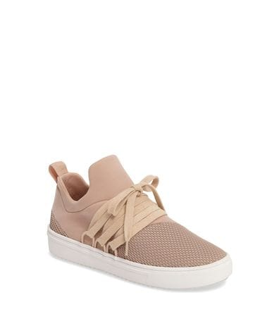 Steve Madden Women's Lancer Athletic Sneaker in Blush