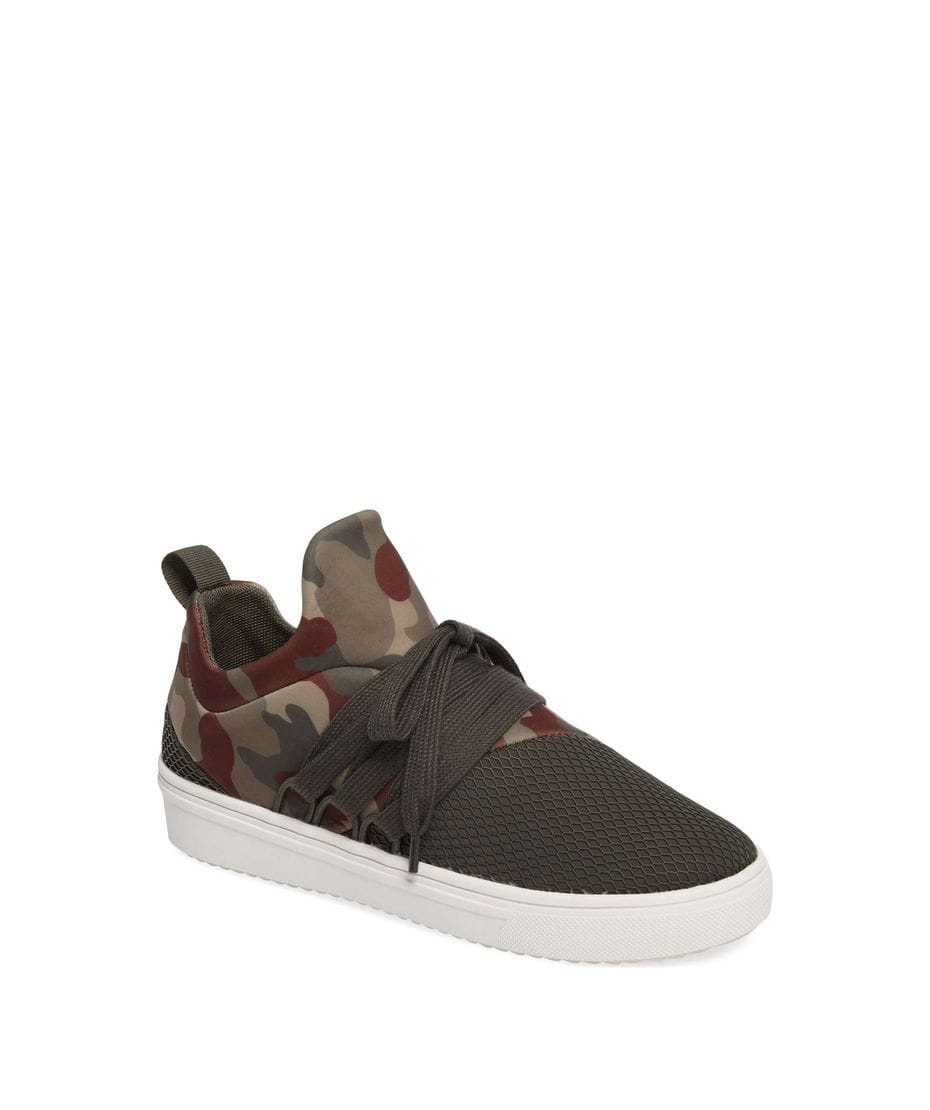 fa65d603a34 Steve Madden Women s Lancer Athletic Sneaker in Camoflage