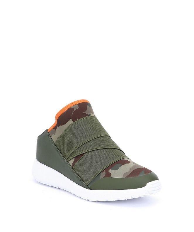 Steve Madden Vine Women's Slip-On Sneakers in Camoflage