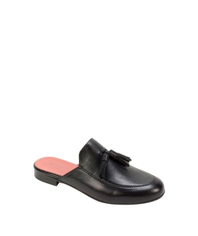 Summit by White Mountain Women's Anelie Slip On Mule in Black