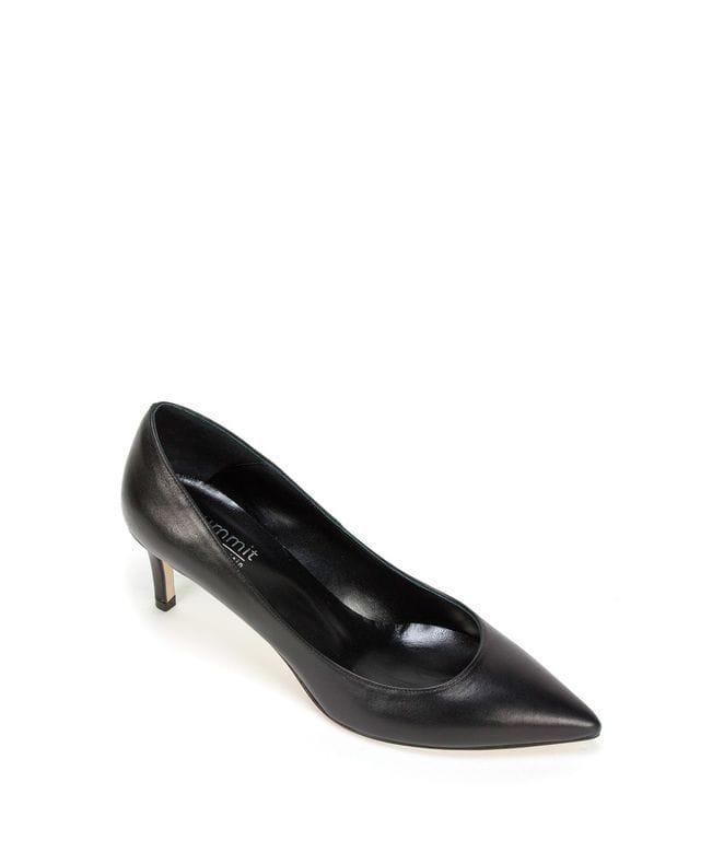 Summit White Mountain Callison Women's Italian Leather Heel in Black