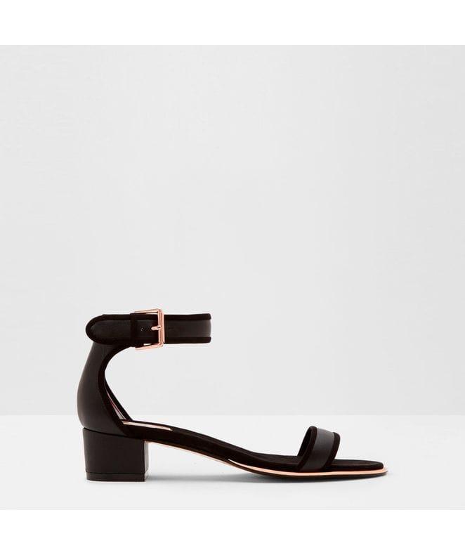 Ted Baker Ruz Women's Mid Heeled Sandals in Black