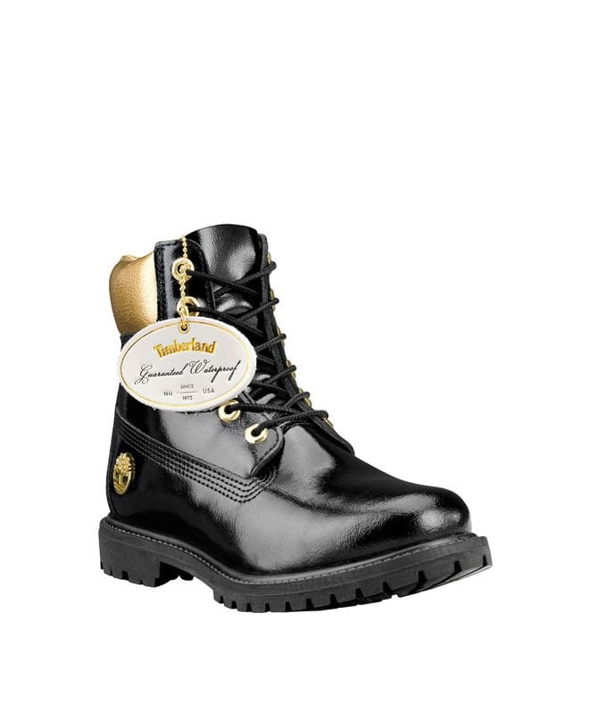 Timberland Women's Special Release Midnight Countdown WP Boots in Black Patent