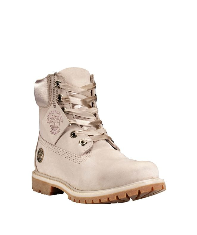 Timberland Women's 6-inch Premium Waterproof Boots in Light Taupe