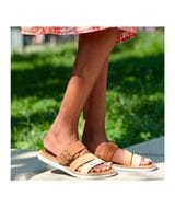 Timberland Women's Adley Shore Slide Sandals in Brown Multi