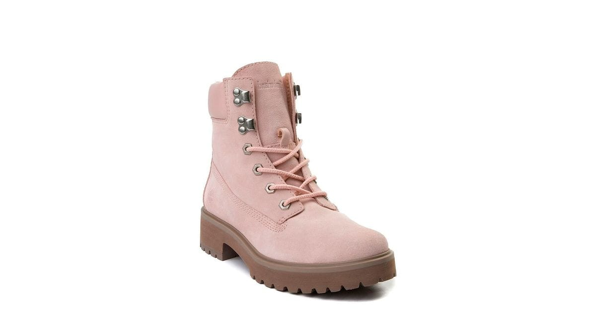 Timberland Women S Carnaby Cool 6 Inc Boots In Light Pink