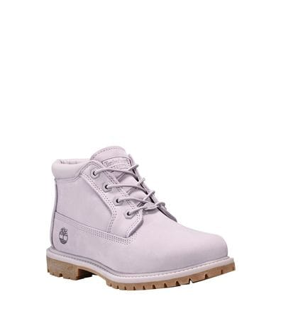 Timberland Women's Nellie Chukka Waterproof Boot in Light Grey