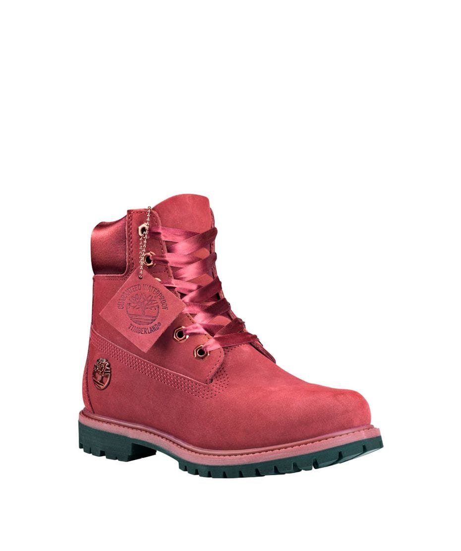 Timberland Women s 6 in Premium Waterproof Boot in Burgundy