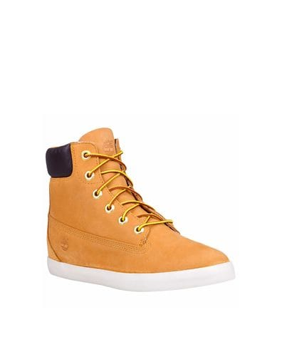 Timberland Women's Flannery Fashion Sneaker in Wheat