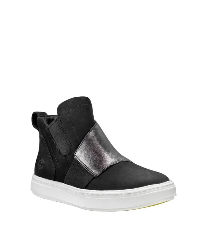 Timberland Women's Londyn Pull-On Chelsea Sneakers in Black Nubuck
