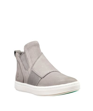 Timberland Women's Londyn Pull-On Chelsea Sneakers in Grey Nubuck