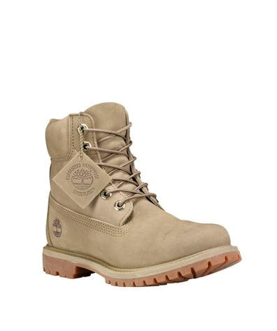 Timberland Women's 6-in Premium Waterproof Boot in Light Green