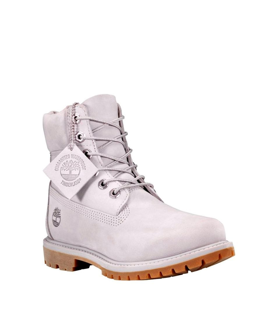 Timberland Women s 6-in Premium Waterproof Boot in Light Grey ... e4b7bb77b