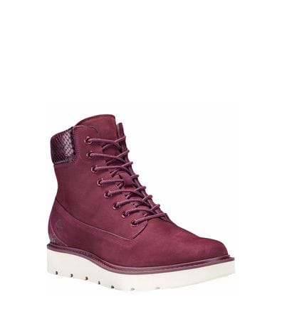 Timberland Women's Kenniston Lace-up Boot in Burgundy