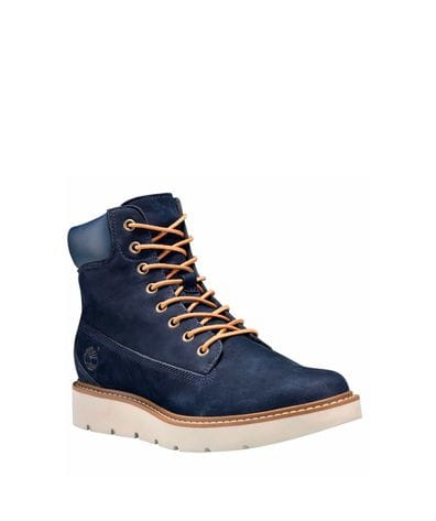Timberland Women's Kenniston Lace-up Boot in Navy