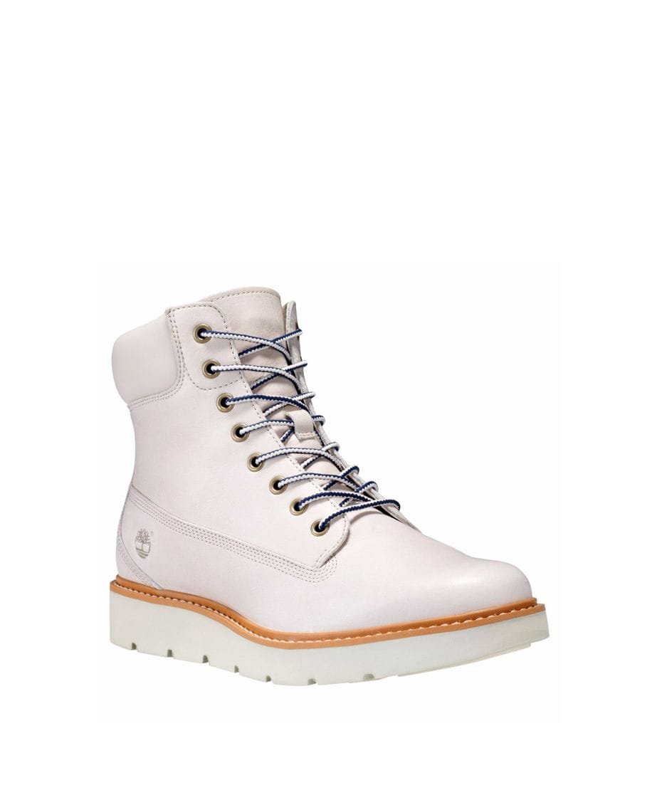 d778272b09f7 Timberland Women s Kenniston Lace-up Boot in Off White