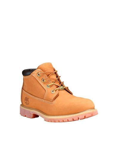 Timberland Women's Nellie Chukka Waterproof Boot in Wheat Nubuck