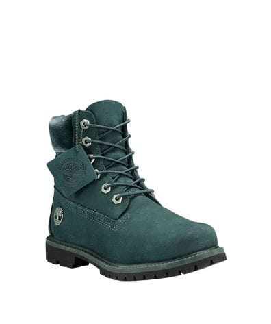 Timberland Women's 6-in Premium Waterproof Boot in Dark Green