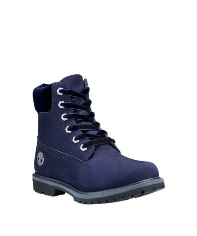 Timberland Women's 6-in Premium Waterproof Boot in Navy