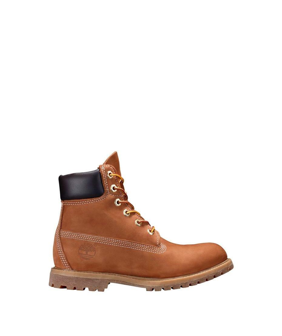 318c31787cd1d7 Timberland Women's 6-in Premium Waterproof Boot in Rust Nubuck ...