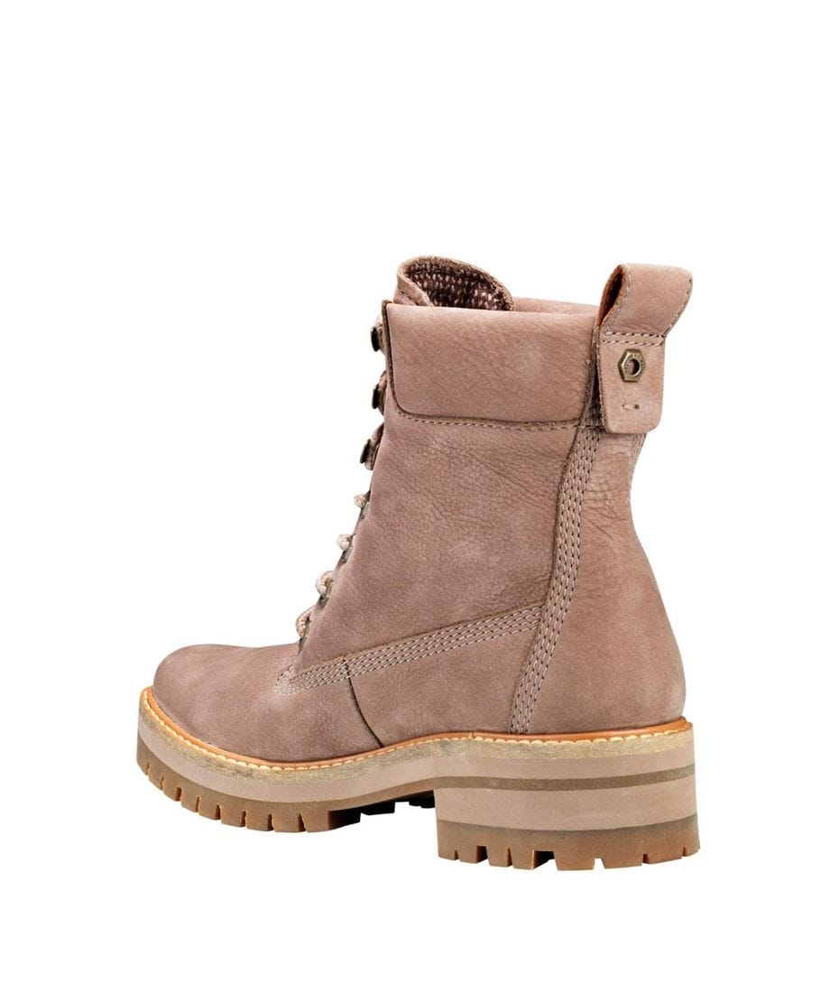 Timberland Women s Courmayeur Valley 6 inch Boots in Grey Nubuck