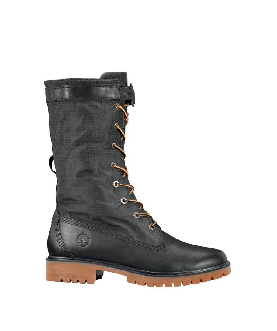 Black waterproof timberland boots - Vitamine shoppee
