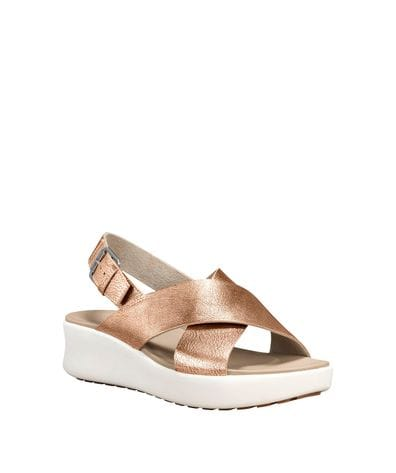 Timberland Women's Los Angeles Wind Slinback Sandals in Rose Gold