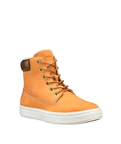 Timberland Women's Londyn Warm-Lined Boots in Wheat Nubuck